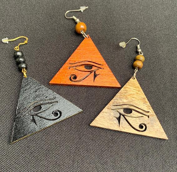 Eye of Horus Earring - www.venusisland.co.uk