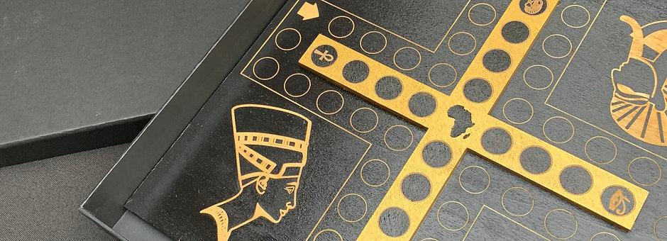 Venus Island Ludo Board: The Egyptian Inspired Edition