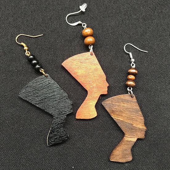 Nefertiti earrings - www.venusisland.co.uk