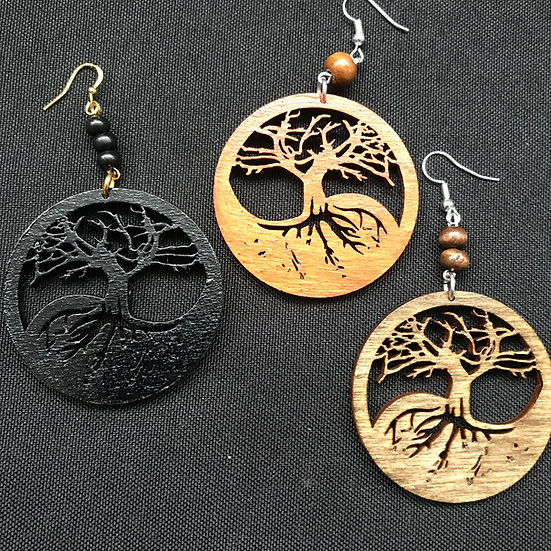Tree of life earrings - www.venusisland.co.uk