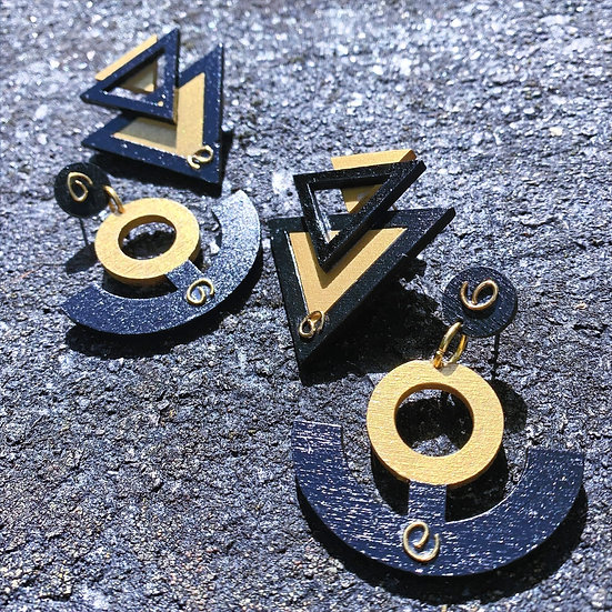 Fool's Gold - Earrings