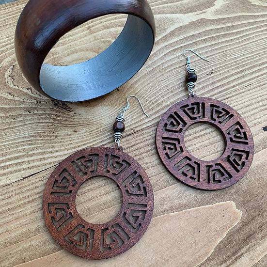 Simplicity - Earrings & Bangle Set
