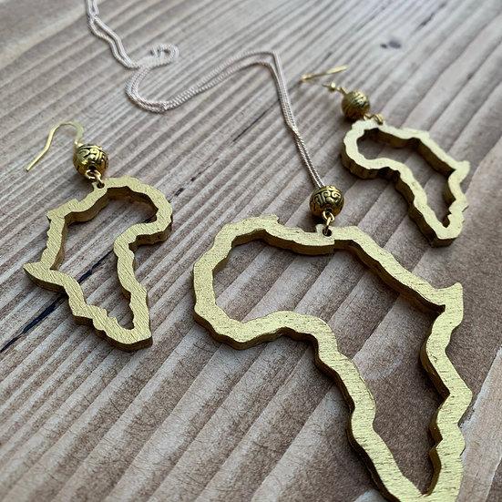 Motherland - Earrings & Chain Set