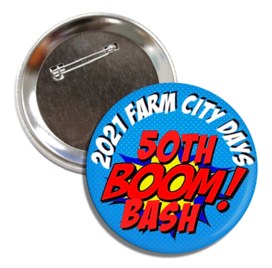 2021 Virtual Farm City Days Medallion Hunt Button