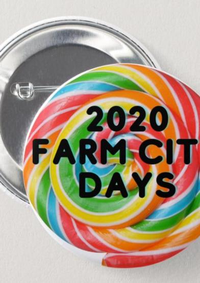 2020 Virtual Farm City Days Medallion Hunt Button