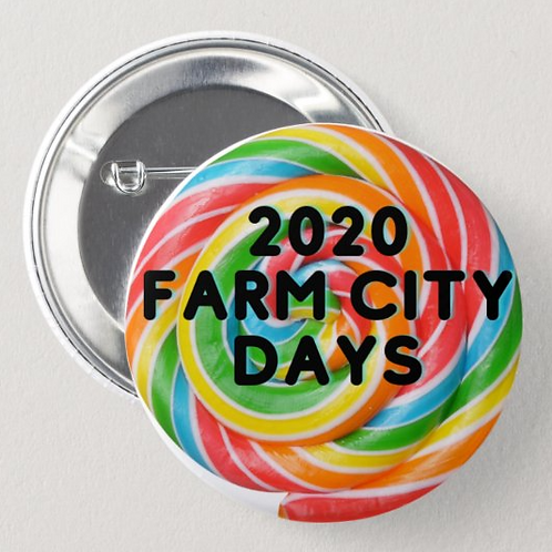 2020 Virtual Farm City Days Medallion Hunt Button