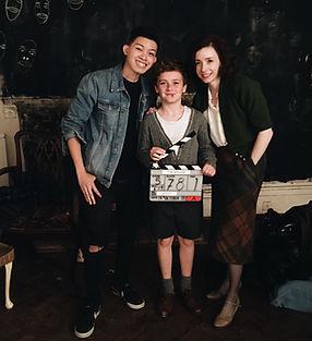 Darius with Fiona Glascott and Austin Ta