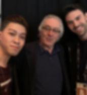 Darius and Arron with Robert De Niro.jpg