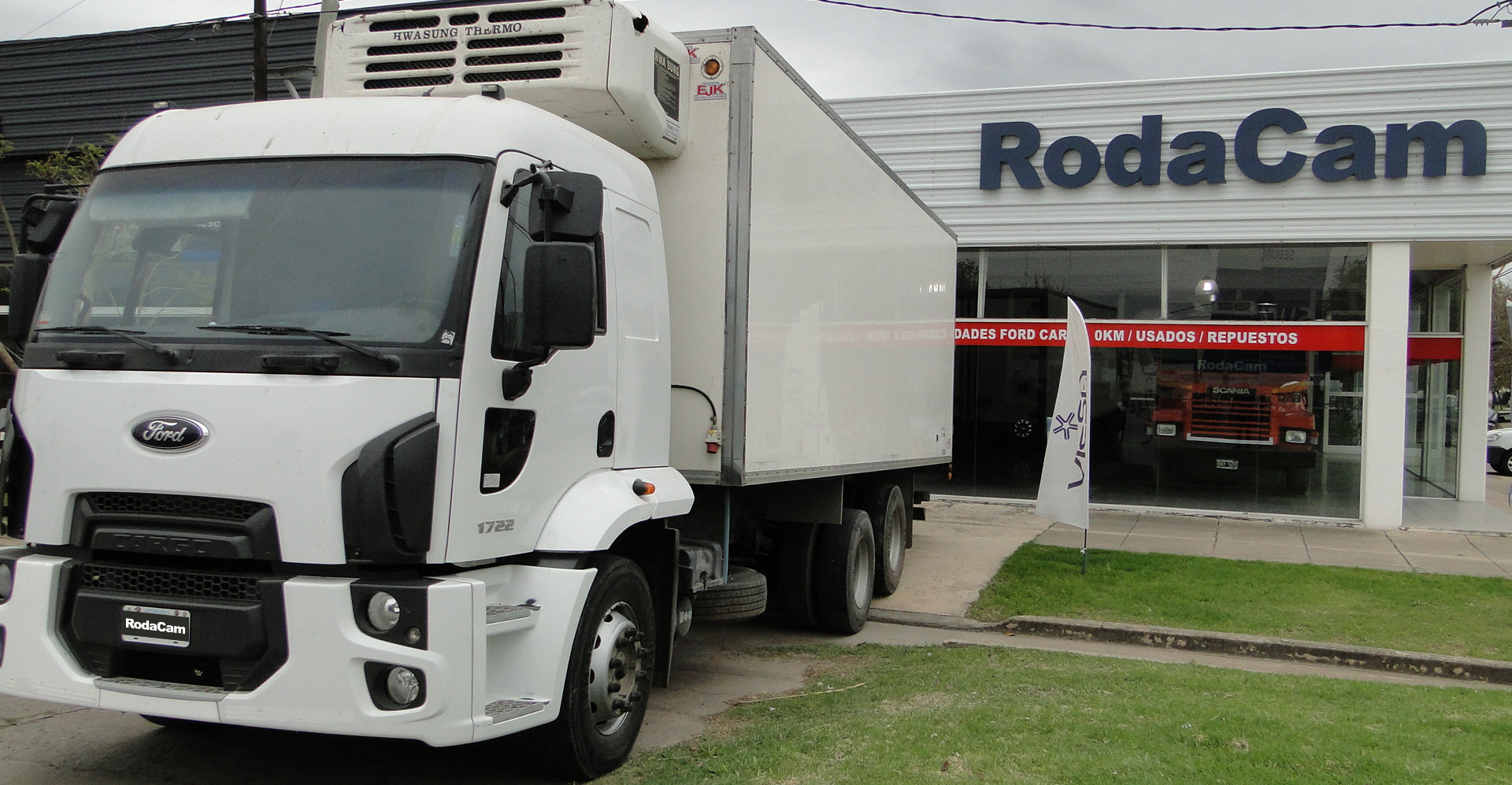 Ford Cargo 1722 6x2