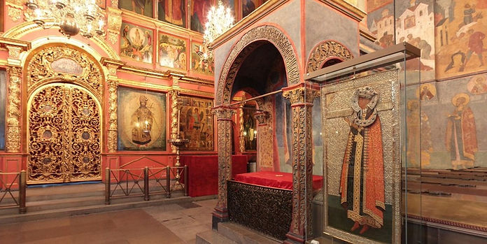 Tomb of Dmitry Uglichsky son of Ivan the