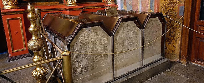 Tombs of Ivan the Terrible father and gr