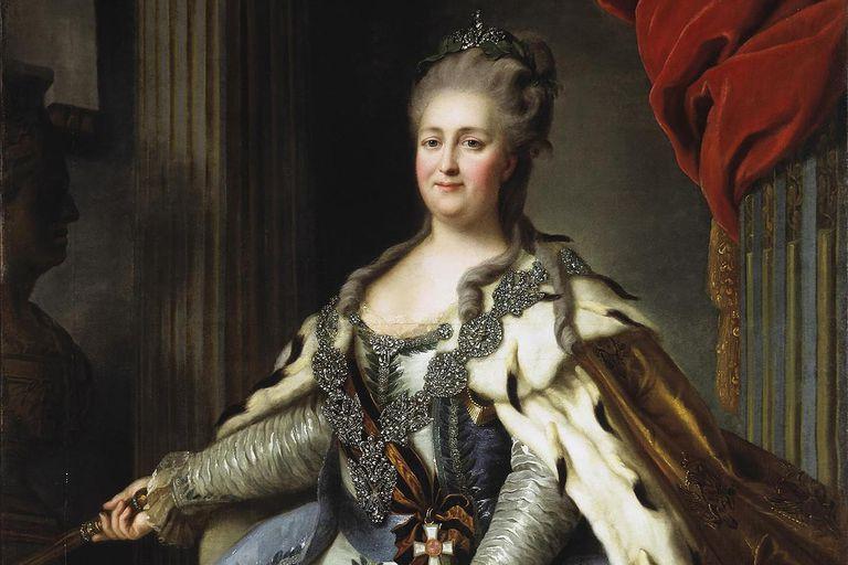 Catherine II The Great Image