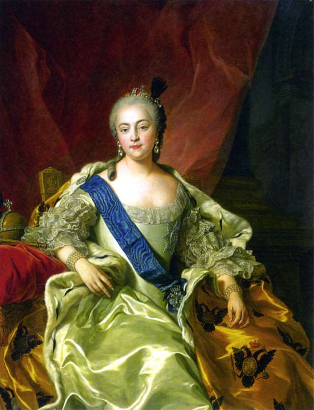 Elizabeth I of Russia Image