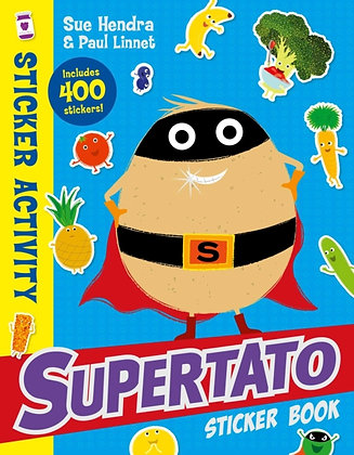 Supertato Sticker Book by Sue Hendra (Author) , Paul Linnet (Author)
