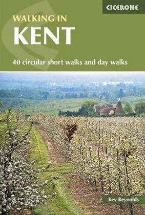 Walking in Kent : 40 circular short walks and day walks by Kev Reynolds