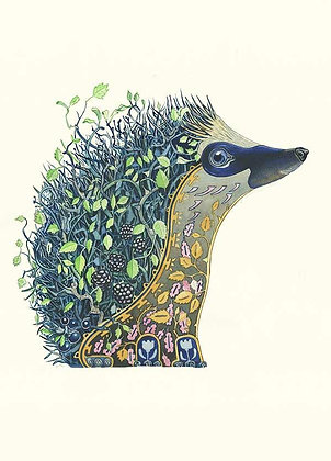 Greetings Card - The Night Hedgehog