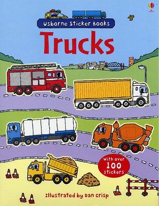 Trucks Sticker Book by Dan Crisp
