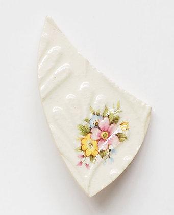 Virginia Graham ceramic brooch