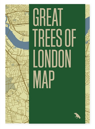 Great Trees of London Map : 1 by Paul Wood