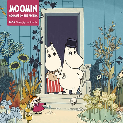 Jigsaw Puzzle Moomins on the Riviera : 1000-piece Jigsaw Puzzle
