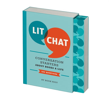 Lit Chat : Conversation Starters About Books and Life (100 Questions)
