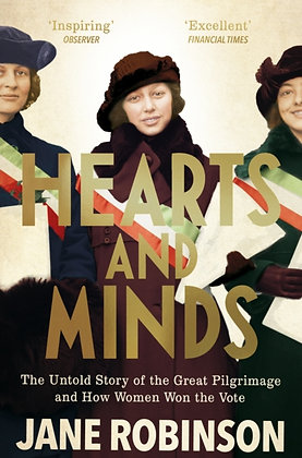 Hearts And Minds by Jane Robinson
