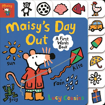 Maisy's Day Out : A First Words Book by Lucy Cousins