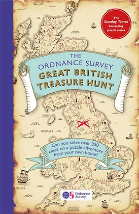 The Ordnance Survey Great British Treasure Hunt : Can you solve over 350 clues?