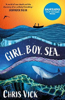 Girl Boy Sea by Chris Vick