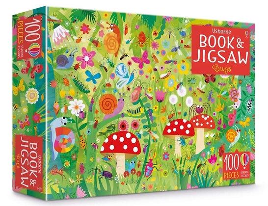Usborne Book and Jigsaw - Bugs