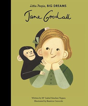 Jane Goodall : 19 by Maria Isabel Sanchez Vegara