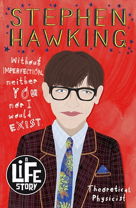 Stephen Hawking by Nikki Sheehan