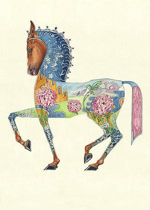 Greetings card - Horse