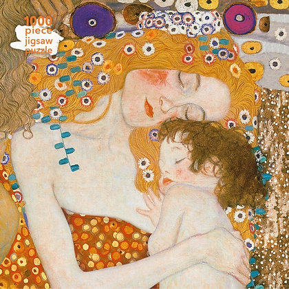 Adult Jigsaw Puzzle Gustav Klimt: Three Ages of Woman : 1000-piece Jigsaw Puzzle
