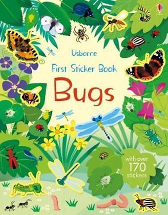 First Sticker Book Bugs by Holly Bathie & by Holly Bathie , Caroline Young
