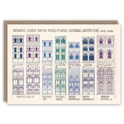 Greetings Card - Cathedral Architecture