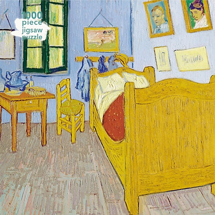 Adult Jigsaw Puzzle Vincent van Gogh:Bedroom at Arles : 1000-piece Jigsaw Puzzle