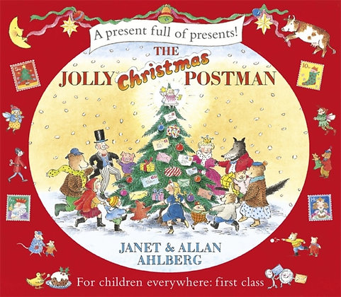 The Jolly Christmas Postman by Allan Ahlberg , Janet Ahlberg