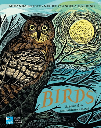 RSPB Birds : Explore their extraordinary world by Miranda Krestovnikoff