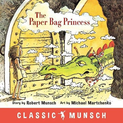 The Paper Bag Princess 40th anniversary edition by Robert Munsch