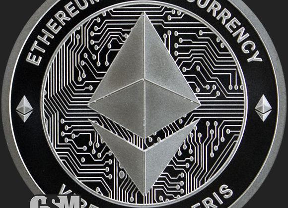Ethereum Silver Round  GSM .999