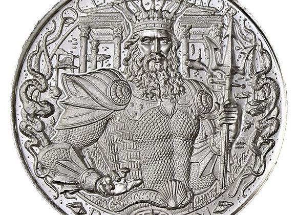 Atlantis 1 oz Silver Round - Mythical Cities Series 999 Pure - Mason Mint