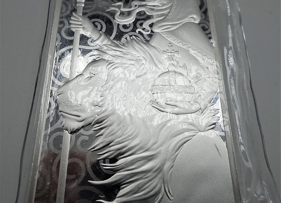 Una & the Lion 10 oz Silver Bar Minted Bullion   999.9 Fine Silver