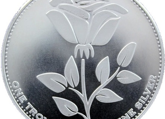 2009 1oz English Rose Bullion Coin Birmingham Mint