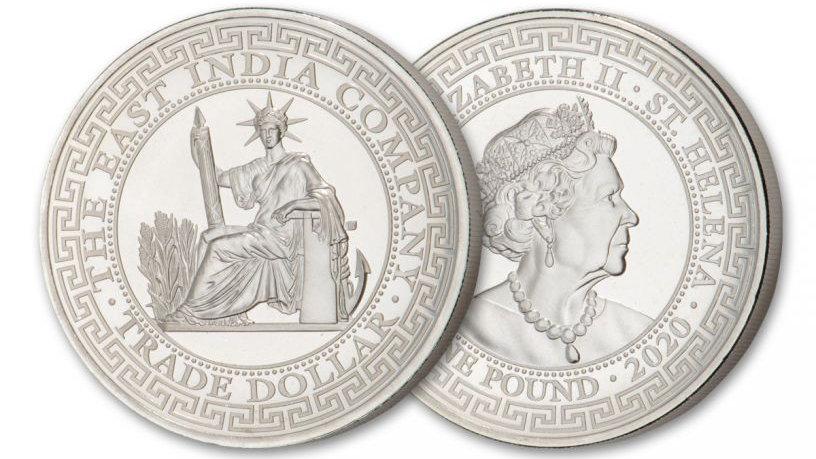 2020 1 oz French Trade Dollar Silver Coin (BU)