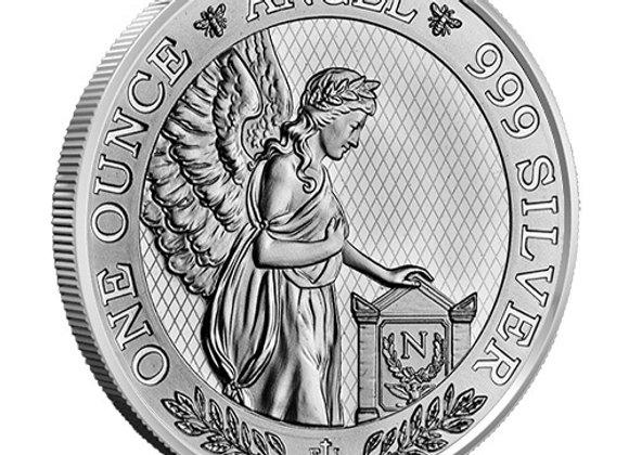2021 St. Helena Napoleon Angel 1 oz Silver Coin BU