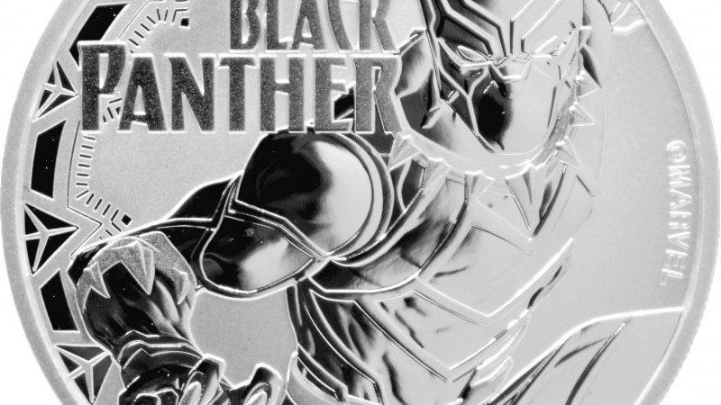 Perth Mint 1 oz silver 2018 MARVEL BLACK PANTER $1
