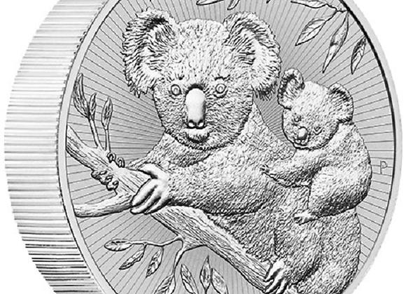 2018 Silver 2 oz Australia Perth Next Generation Koala Piedfort