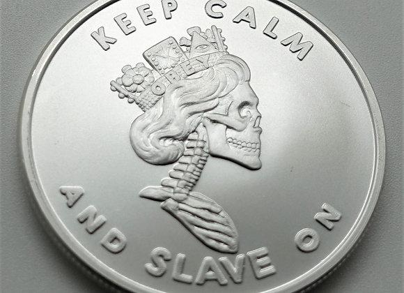 Slave Queen V2 1 oz Royal Highness BU Silver Round