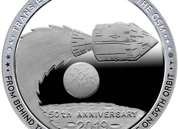 1 oz Apollo 11 Earthbound Silver Round (Proof-Like, New)